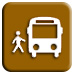 Public Transit Icon - Victoria Hiking Trails