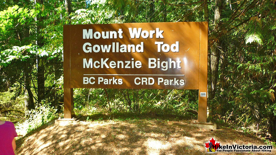 Gowlland Tod Park Hike Victoria